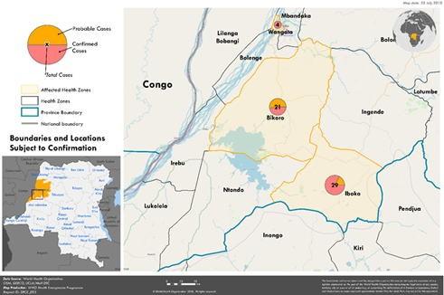 エボラウイルス病 - コンゴ民主...