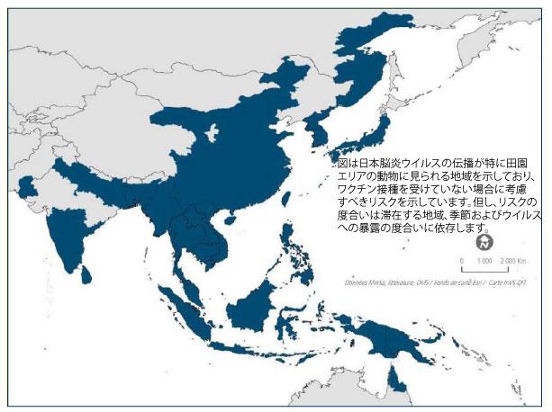 図.アジアの地図