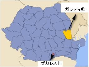 図.ガラティ県地図